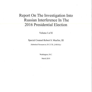 Mueller Report Released - Jeff Mordock of the Washington Times With the Latest