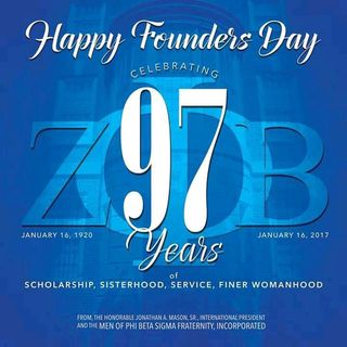Happy Founders Day Zeta Phi Beta Sorority Inc #ashsaidit