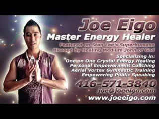 Master Energy Healer Joe Eigo!