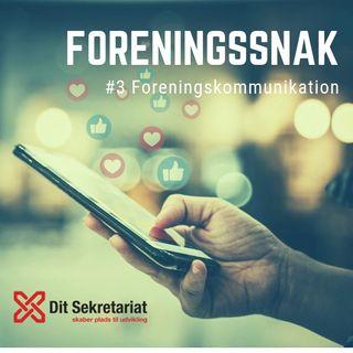 #3 Foreningskommunikation