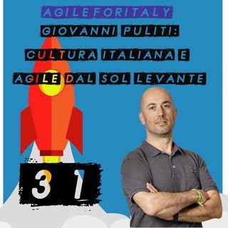 31. Giovanni Puliti: cultura italiana e agile dal sol levante