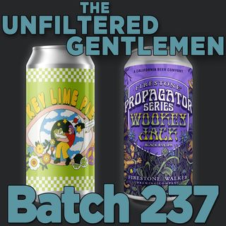 Batch237: Firestone Walker Wookey Jack Black Rye IPA & Prairie Artisan Ales Key Lime Pie