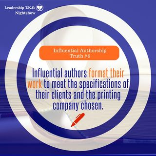 Influential Authorship Truth #6 | Lakeisha McKnight