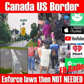 Morning moment US Canada borders wall or NOT? Aug 31 2018