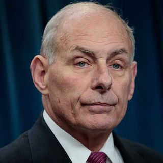 White House Chief Of Staff John Kelly May Resign