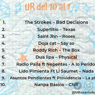 En cuarentena actualiza tus oídos con #URdel10Al1