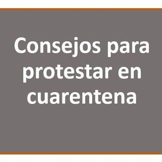 Protestar en cuarentena?