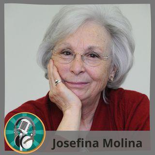 Rosana Vázquez y Rosa Lora con Josefina Molina