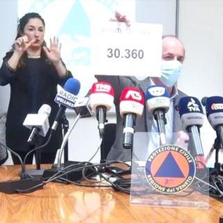 """Zaia: """"Inspiegabile il crollo drastico dell'epidemia in Veneto. Resteremo in zona gialla"""""""