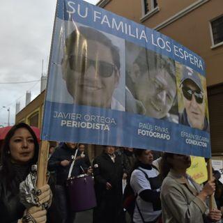 Audio presidente Lenin Moreno sobre muerte de periodistas ecuatorianos