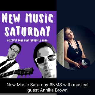 New Music Saturday Dr.Bones Mike 1inFive and musical guest Annika Brown