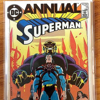 Episode 002 - Superman Annual No. 11, Nov. 1984, DC Comics