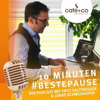 Auch während der Corona-Krise: Das café+co Team versorgt Österreich zuverlässig mit Kaffee