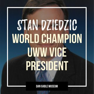 World Champion, Olympic bronze medalist and UWW Vice President Stan Dziedzic - OTM546