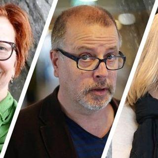 Maja Aase, Jonathan Lindström och Susanne Ljung