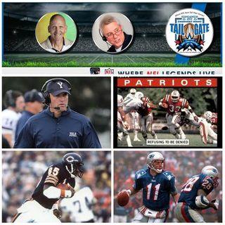 Yale Head Coach Tony Reno + Tony Collins, Dennis McKinnon & Drew Bledsoe Join Us