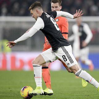 La Juventus di Sarri, scopre Ramsey centroavanti o falso nove