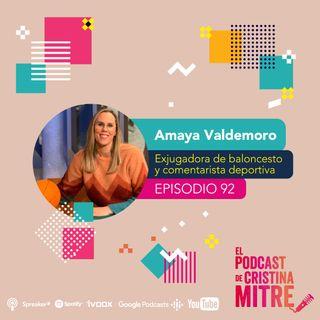 Aprender a vivir sin miedo con Amaya Valdemoro