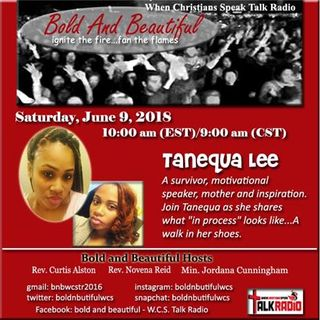 Bold and Beautiful, A mile In Her Shoes with Tanequa Lee