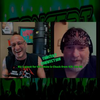 TCC Nov 25 2020 Ric interviews Chuck from Kill 'em All tribute to  Metallica