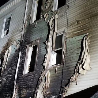 Seven Hurt In Worcester Triple Decker Blaze