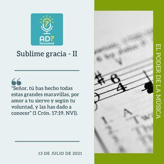 13 de julio - Sublime gracia - II - Devocional de Jóvenes - Etiquetas Para Reflexionar