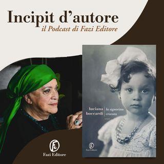 Luciana Boccardi legge «La signorina Crovato»