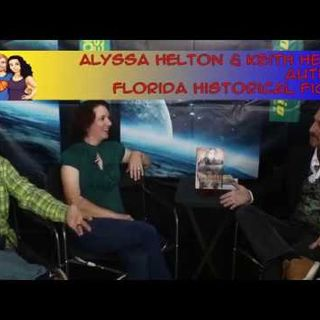 Snooping and Sleuthing with Authors Alyssa & Keith Helton: interview on the Hangin With Web Show