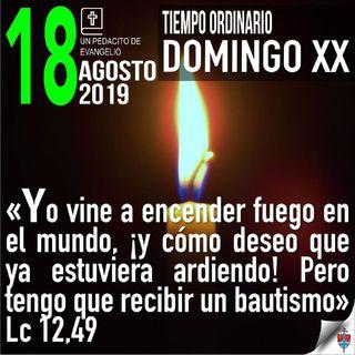 Homilía 18 Agosto 2019 - Cristo rompe la paz falsa para traer la verdadera paz