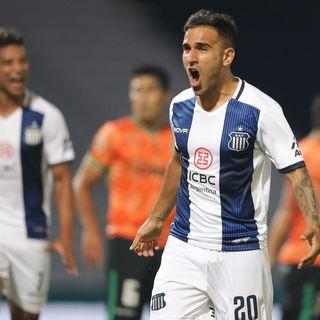 Gol de Talleres: Franco Fragapane 1-0