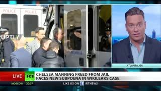 Ben Swann ON Chelsea Manning Released from Jail But May Be Heading Back