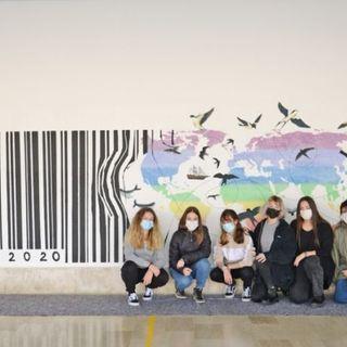 Progetto DiversArte a Valdagno: 275 studenti trasformano diversità e integrazione in un murale