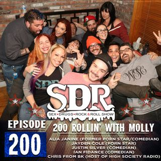 Various Guests (Comedians & Porn Stars) - 200 Rollin' With Molly