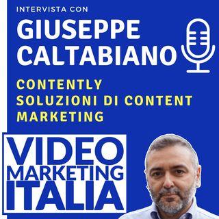Giuseppe Caltabiano - Contently - Soluzioni di content marketing - VMI007