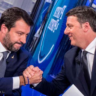 Renzi Leghista, Salvini Liberato