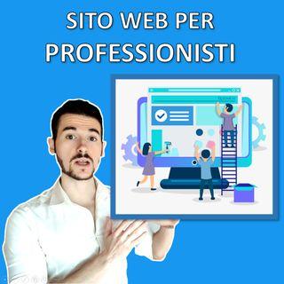Come realizzare un SITO WEB per Professionisti nel 2021
