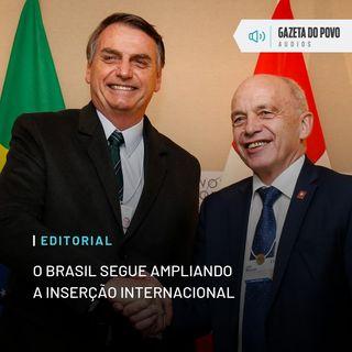 Editorial: O Brasil segue ampliando a inserção internacional