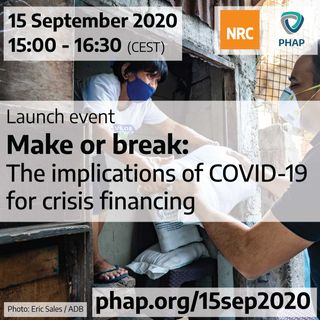 Make or break: The implications of COVID-19 for crisis financing