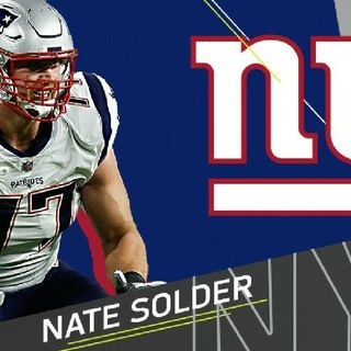 NYG Talk Ep379 NATE SOLDER OUR NEW LEFT TACKLE & We Also Added Jonathan Stewart & Another OL #Honeybadger