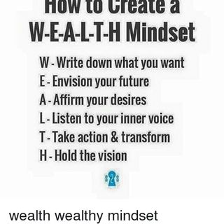 Enroll into the Affirmation Course 12: Manifest Wealth!