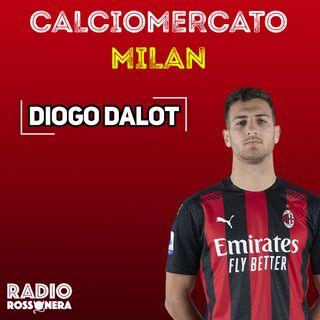"""CALCIOMERCATO MILAN: DIOGO DALOT, """"TESTIAMO IL POLSO"""" SUL SUO RITORNO"""