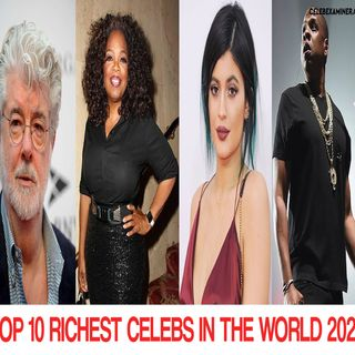 TOP 10 RICHEST CELEBS IN THE WORLD 2020