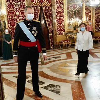 Entrega cartas credenciales en España, la nueva embajadora mexicana