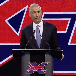 It's Mike Jones: XFL Commissioner Oliver Luck
