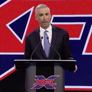 It's Mike Jones: XFL Commissioner Oliver Luck