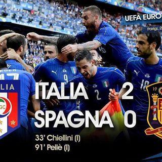 EuroNews - Italia-Spagna 2°T