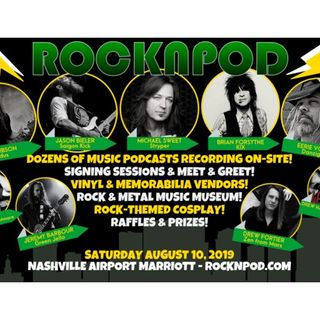 Totally Driven Radio #331 - Nashville Rock n Pod Expo Part 1 - LIVE BROADCAST