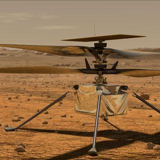 Ingenuity, un elicottero su Marte