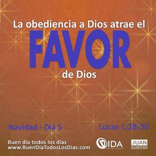 DEVOCIONAL DE NAVIDAD 5 – OBEDIENCIA Y FAVOR