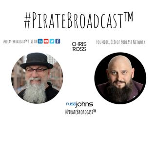 Catch Chris Ross® on the #PirateBroadcast™